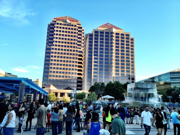 """Summerfest @ Civic Plaza"" - by Dan Majewski"