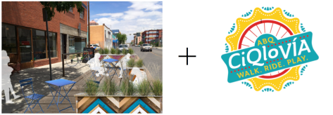 These two tactical urbanist projects will facilitate and catalyze and more Urban ABQ.