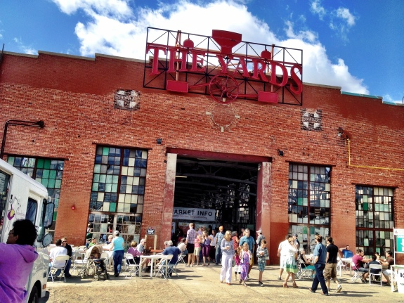 The Railyards Market on Mothers Day, 2014