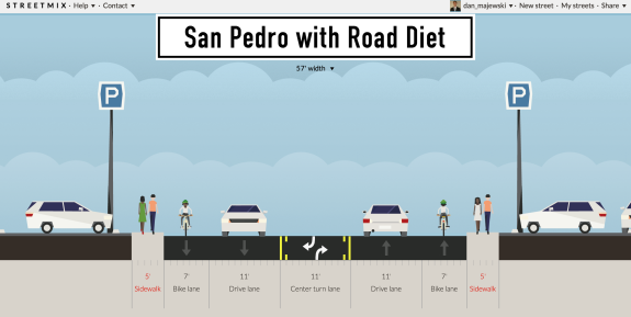 San Pedro will soon be redesigned with this configuration.