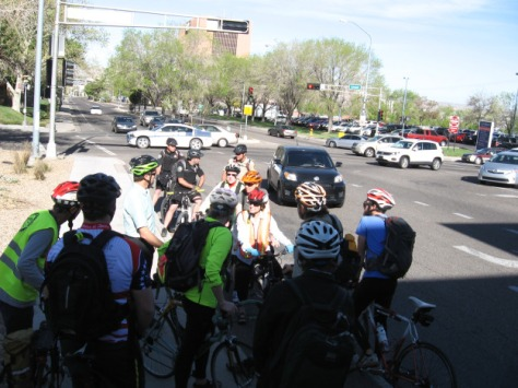 We stopped at Martin Luther King Jr Blvd to discuss coming multimodal improvements