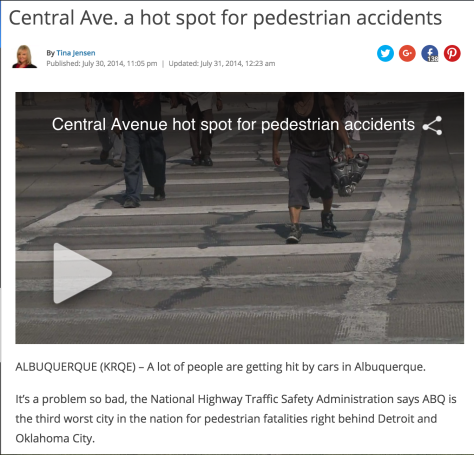ped fatalities central